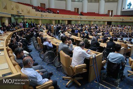 مراسم تجلیل از دست اندرکاران تصویب قانون حمایت از حقوق افراد دارای معلولیت
