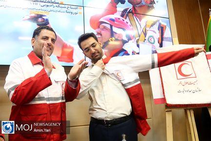 نشست همکاری دوجانبه جمعیت هلال احمر و وزارت ارتباطات
