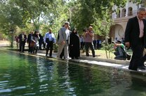 بازدید رئیس سازمان میراث فرهنگی از اماکن تاریخی و گردشگری سنندج