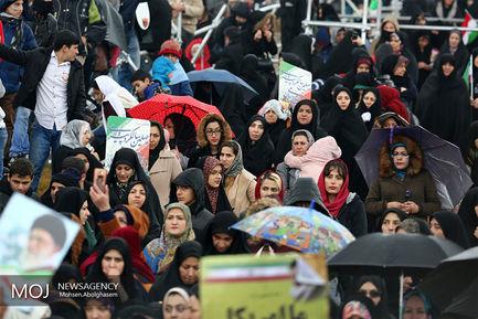 جشن چهلمین سال انقلاب در میدان آزادی