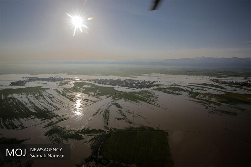 آسیب دیدن 250 هزار هکتار از اراضی کشاورزی گلستان