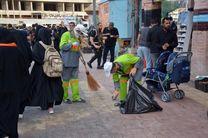 حضور 350 تن از نیروهای شهرداری در نجف اشرف