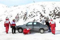 امدادرسانی به 220 مسافر گرفتار در برف جادههای کرمانشاه
