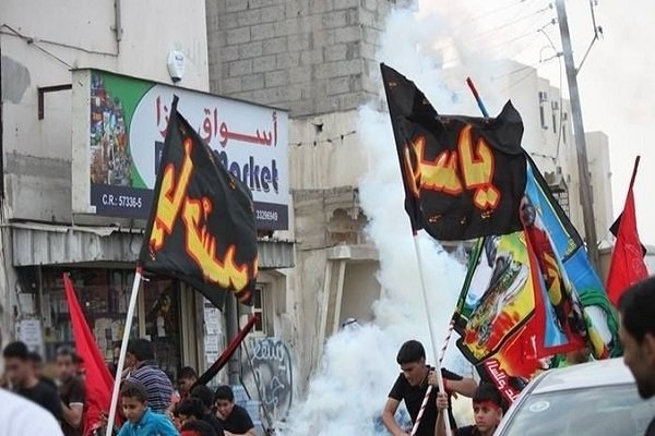 تعرض نظامیان آلخلیفه به مظاهر عاشورایی