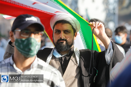 اجتماع مردمی حمایت از مردم مظلوم غزه در میدان امام حسین (ع)