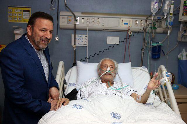 رئیس دفتر رئیس جمهور از جمشید مشایخی و سید ضیاءالدین دری عیادت کرد