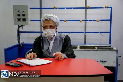 بازدید رییس کمیته امداد از نمایشگاه صنایع روستا دوست