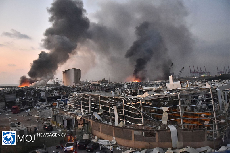 انفجار بندر بیروت یک سناریوی از قبل تعیین شده است/ غرب به دنبال حذف حزب الله از صحنه سیاسی لبنان است