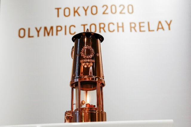 مشعل بازی های المپیک توکیو رونمایی شد