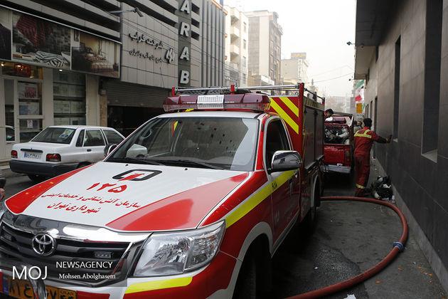 دما در ساختمان برق وزارت نیرو به 250 درجه رسید