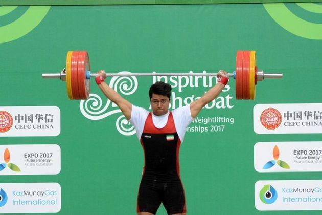 نایب قهرمان وزنه برداری آسیا: از عملکردم راضی نیستم