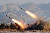 آتش گرفتن انبار سلاح نیروهای عربستانی در حمله موشکی ارتش یمن