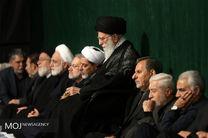 مراسم عزاداری اباعبدالله الحسین(ع) با حضور رهبر معظم انقلاب برگزار شد