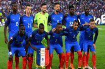 ترکیب تیمهای فرانسه و پرو مشخص شد