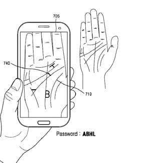 احراز هویت موبایل با استفاده از کف دست