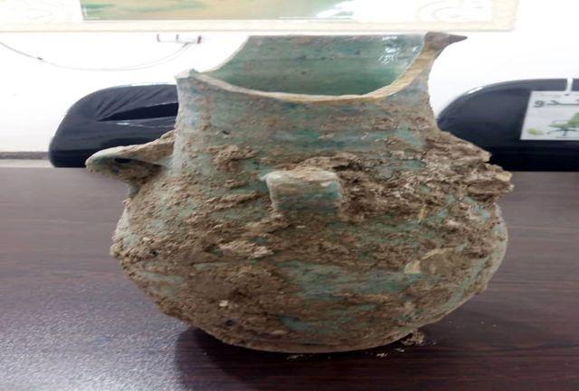 کوزه تاریخی  متعلق به دوره اسلامی در رامهرمز کشف شد