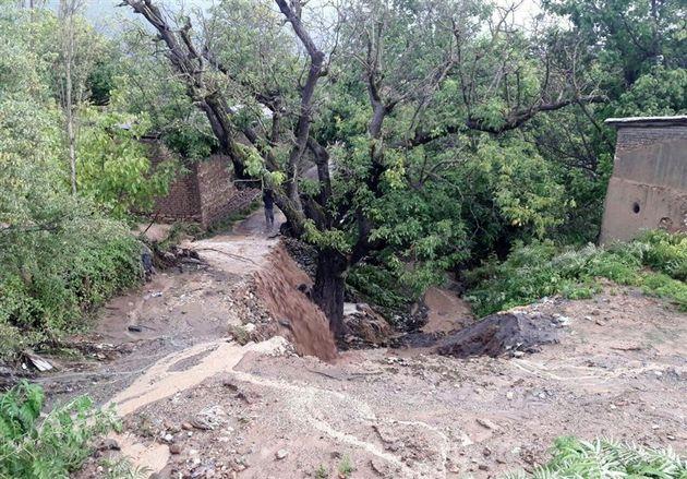 ورود نیروهای سپاه و ارتش به عملیات یافتن ۲ مفقود سیل استان گلستان