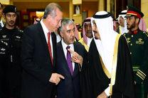 مجیزه گویی وهابیون ریاض توسط اردوغان