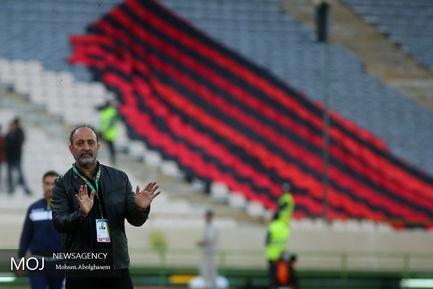 دیدار تیم های فوتبال استقلال تهران و سیاه جامگان مشهد