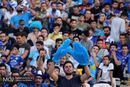 حاشیه دیدار تیم های فوتبال استقلال ایران و السد قطر