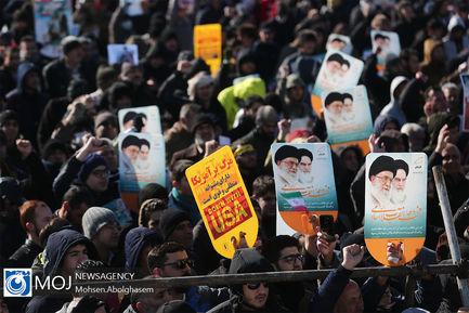 جشن چهل و یکمین سال انقلاب در میدان آزادی