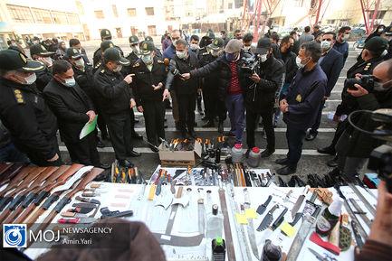 دومین مرحله از اجرای طرح صاعقه توسط نیروی انتظامی