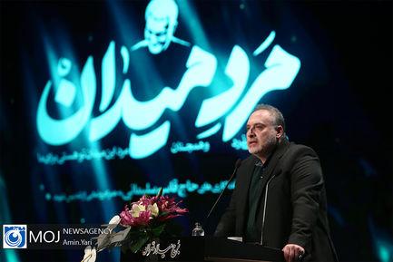 رونمایی از مجسمه سردار حاج قاسم سلیمانی