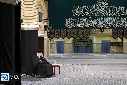 عزاداری شب شهادت حضرت فاطمه (س) با حضور رهبر انقلاب