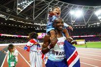محمد فرح ششمین مدال طلای جهانی خود را کسب کرد