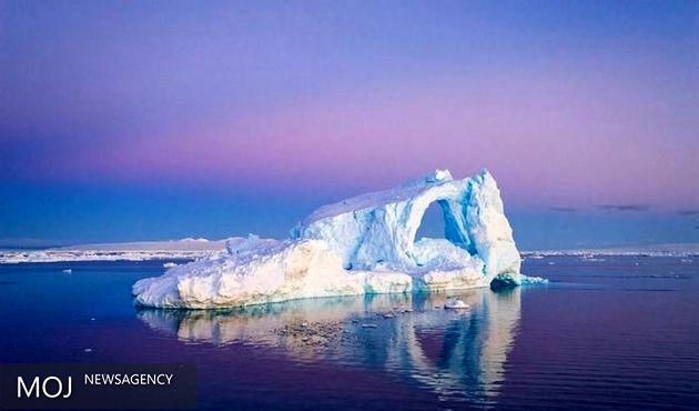 قطب سوم زمین بر اثر آلودگی هوا ذوب می شود