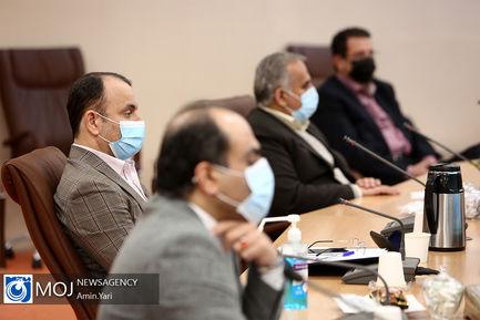 جلسه قرارگاه عملیاتی ستاد ملی مبارزه با کرونا - ۲۰ بهمن ۱۳۹۹