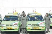 بانوان تاکسیران کرمانشاه تحت آموزش حقوق شهروندی قرار گرفتند