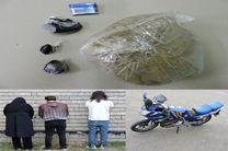 متلاشی شدن باند مواد مخدر در بندر انزلی