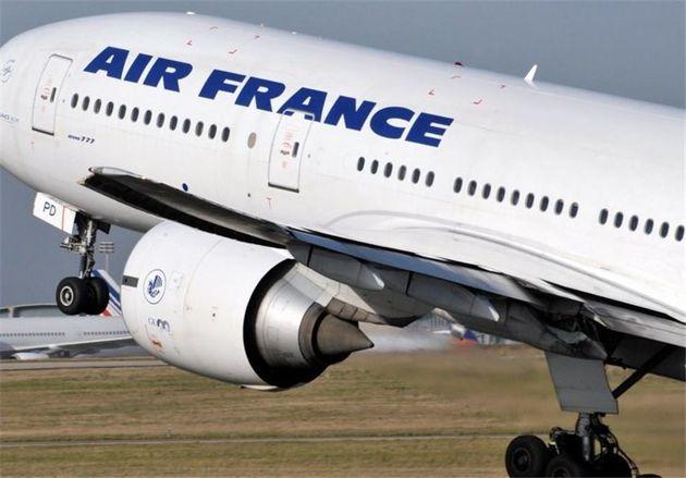 ایرفرانس پروازهایش به ایران را محدود کرد
