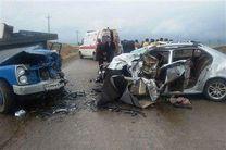 11 مجروح و 2 کشته در حادثه واژگونی خودرو 405