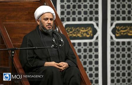 عزاداری شب شهادت امام سجاد (ع) با حضور مقام معظم رهبری
