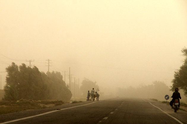 وزش باد شدید همراه با گرد و خاک در سیستان و بلوچستان