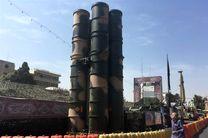 سامانه موشکی S300 در میدان بهارستان به نمایش عموم درآمد