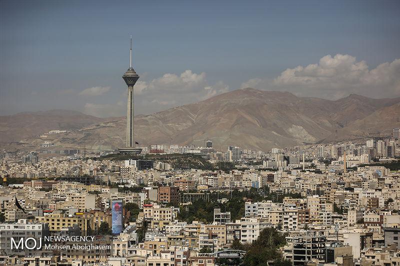 کیفیت هوای تهران در 6 مهر پاک است