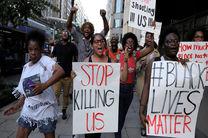 شهروندان آمریکایی علیه خشونت پلیس تظاهرات کردند