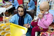 جمعی از کودکان سرطانی استان یزد به حرم مطهر رضوی مشرف شدند