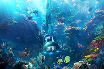 چین در اعماق آب ایستگاه فضایی احداثمی کند