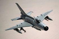 سقوط جنگنده نیروی هوایی ارتش