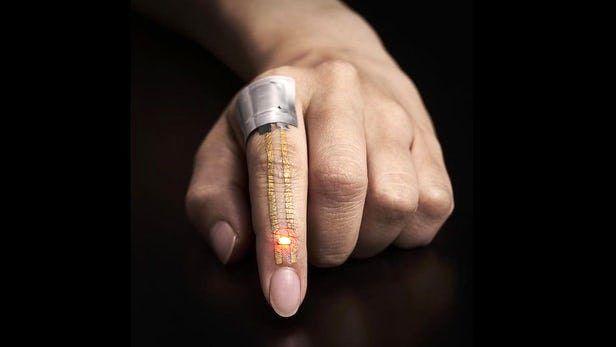 نانو پوشش الکترونیکی که روی پوست حس نمیشود