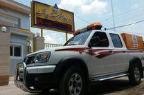 تجهیز ناوگان امداد شرکت گاز استان گیلان به خودروهای دو دیفرانسیل