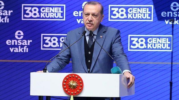 ترکتازی اردوغان با سیب سرخ