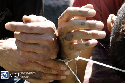 نمایشگاه کشفیات ششمین طرح ظفر پلیس تهران