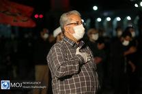 پخش زنده دعای ندبه این هفته هیات رزمندگان اسلام از شبکه یک سیما