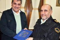 دیدار سردار رحیمی با شهردار تهران