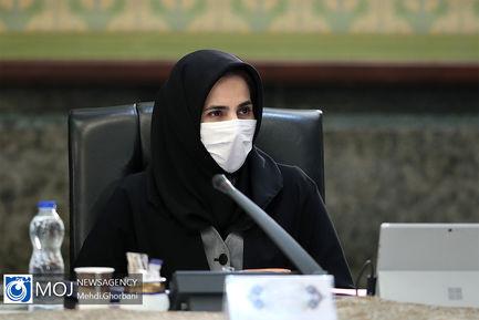 جلسه هیات دولت - ۲۷ فروردین ۱۳۹۹/ لیلا جنیدی